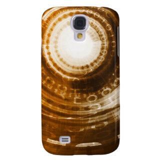 Galaxy S4 Cases Fundo do abstrato dos dados binários para Digitas