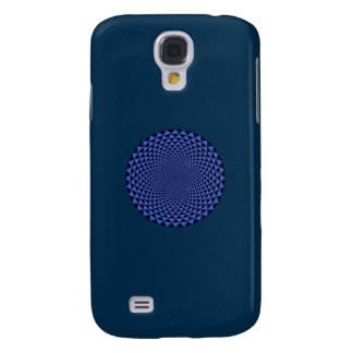 Galaxy S4 Cases Mil pétalas Lotus, azul