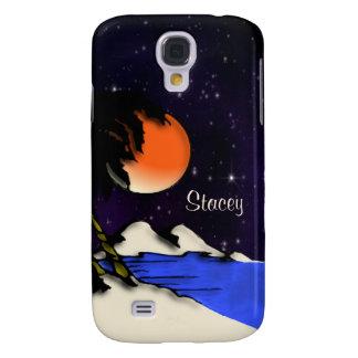Galaxy S4 Cases Noite da ilha pessoal