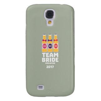 Galaxy S4 Cases Noiva Singapore da equipe 2017 Z4gkk