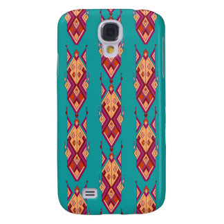 Galaxy S4 Cases Ornamento asteca tribal étnico do vintage