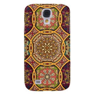 Galaxy S4 Cases Retalhos do vintage com elementos florais da