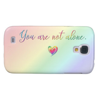 Galaxy S4 Cases Você não está sozinho