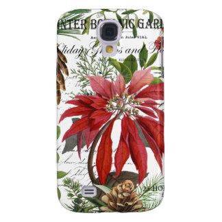 Galaxy S4 Cases Wintergarden moderno do vintage floral