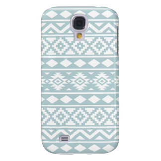 Galaxy S4 Cover Branco asteca de Ptn III da essência no azul do
