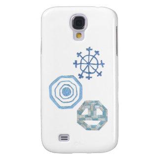 Galaxy S4 Cover Caixa especial da galáxia S4 de Samsung do floco