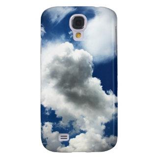 Galaxy S4 Cover Céu azul com nuvens