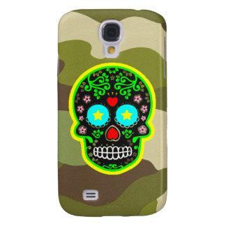 Galaxy S4 Cover Crânio do mexicano da camuflagem da galáxia S4 de