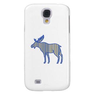 Galaxy S4 Cover Desenho da silhueta dos alces