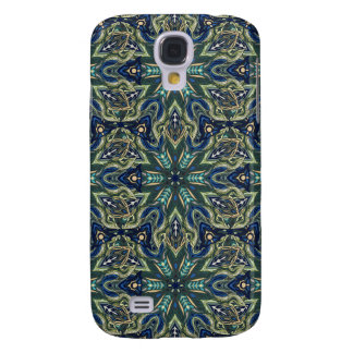 Galaxy S4 Cover Design floral do teste padrão do abstrato da