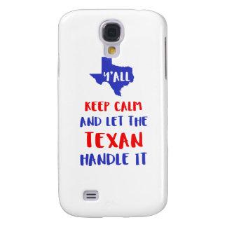 Galaxy S4 Cover Engraçado você camisetas da menina de Texas