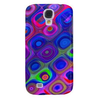 Galaxy S4 Cover Funky roxo azul