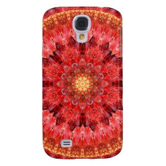 Galaxy S4 Cover Mandala de cristal do fogo