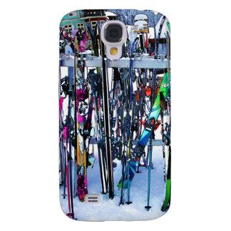 Galaxy S4 Cover O partido do esqui - esquis e Pólos