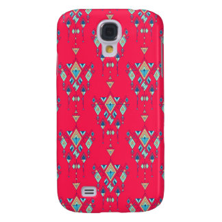 Galaxy S4 Cover Ornamento asteca tribal étnico do vintage