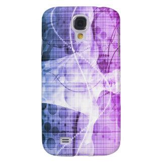 Galaxy S4 Cover Pesquisa da ciência como um conceito para a