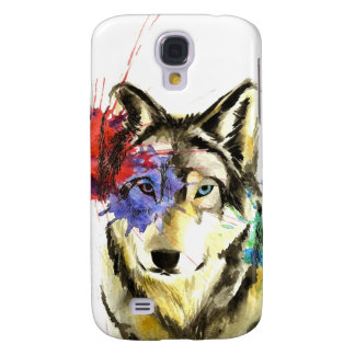 Galaxy S4 Cover Splatter do lobo