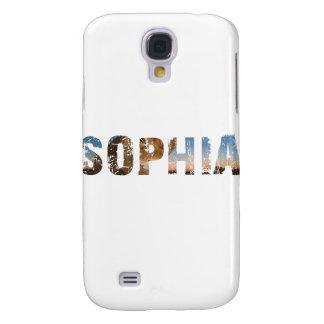Galaxy S4 Cover TENDENDO e refrigere o design conhecido de Sophia