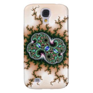 Galaxy S4 Cover Teste padrão elétrico do Fractal do universo