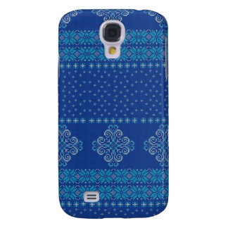 Galaxy S4 Cover Teste padrão feito malha Natal