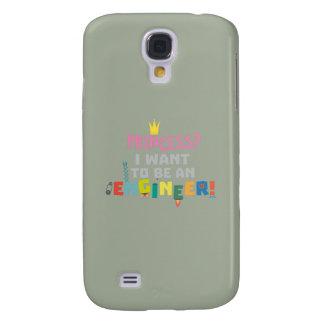 Galaxy S4 Covers A princesa Eu quer ser um Engnineer Z2yb2