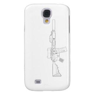 Galaxy S4 Covers Caixa da galáxia S4 da modificação 0 de CQBR MK18