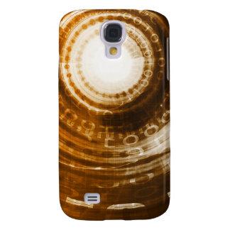 Galaxy S4 Covers Fundo do abstrato dos dados binários para Digitas