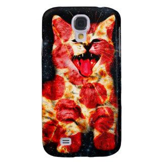 Galaxy S4 Covers gato da pizza - gatinho - gatinho