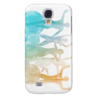 Galaxy S4 Covers Grupo de amigos que saltam para a alegria na