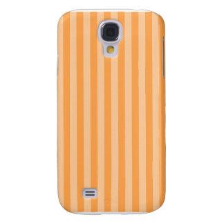 Galaxy S4 Covers Listras finas - alaranjadas e claras - laranja