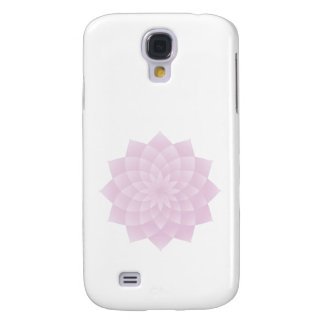 Galaxy S4 Covers Mil pétalas Lotus, cor-de-rosa