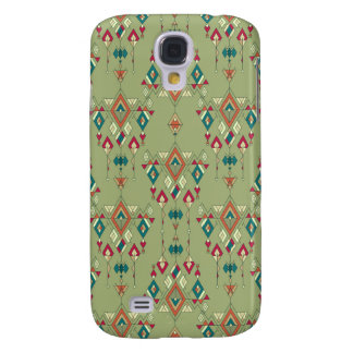 Galaxy S4 Covers Ornamento asteca tribal étnico do vintage