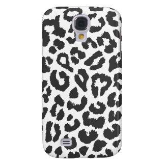 Galaxy S4 Covers Padrões pretos & brancos da pele animal do