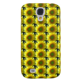 Galaxy S4 Covers Repetindo girassóis