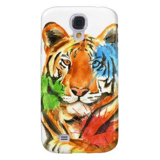 Galaxy S4 Covers Splatter do tigre