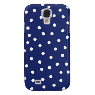 Galaxy S4 Covers Teste padrão de pontos dos confetes dos azuis