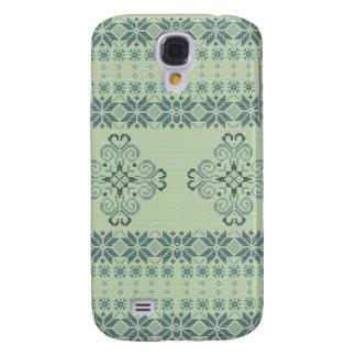 Galaxy S4 Covers Teste padrão feito malha Natal