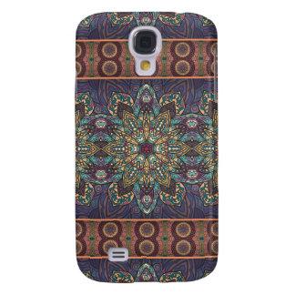 Galaxy S4 Covers Teste padrão floral étnico abstrato colorido da