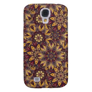 Galaxy S4 Covers Teste padrão floral étnico abstrato colorido de da