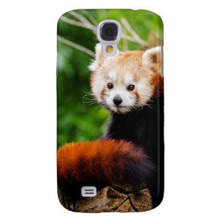 Galaxy S4 Covers Urso de panda vermelha bonito