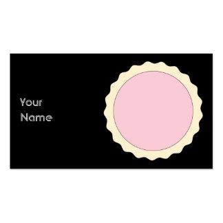 Galdéria do doce. Rosa pálido. Cartão De Visita