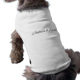 Galeria da arte .com - persiga a camisola de alças camisa sem mangas para cachorro