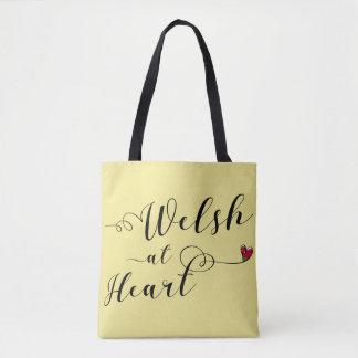 Galês na bolsa de compra do coração, Wales
