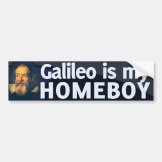 Galileo é meu ficar em casa adesivo para carro