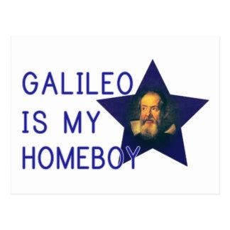 Galileo é meu ficar em casa cartão postal