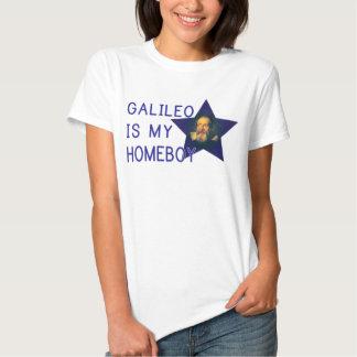 Galileo é meu ficar em casa tshirts