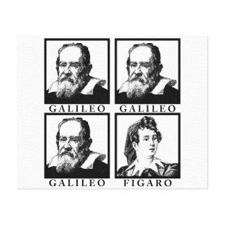 Galileo Figaro BW Impressão Em Tela