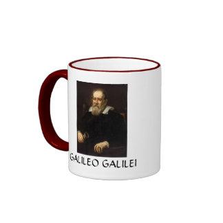 Galileo Galilei * caneca de café do retrato