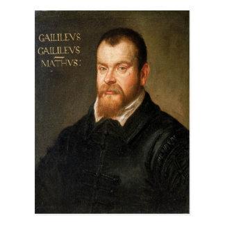 Galileo Galilei Cartão Postal
