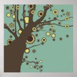 GALINA o poster da árvore